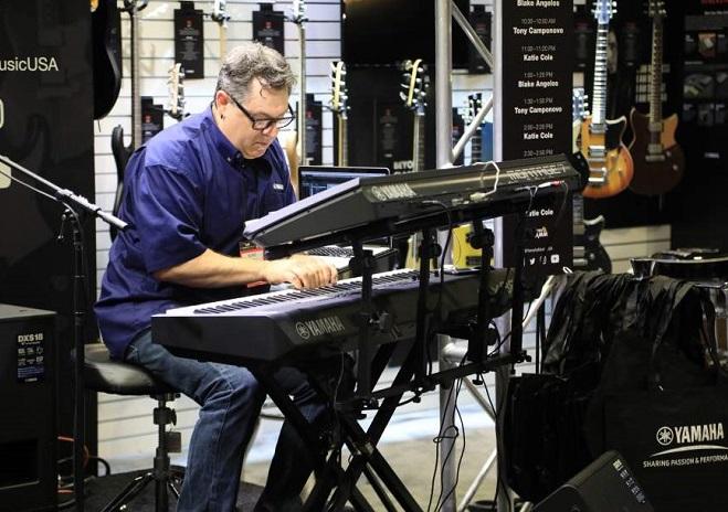 美国阿纳海姆国际乐器舞台灯光展览会