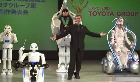 机器人产业位居世界第一的日本
