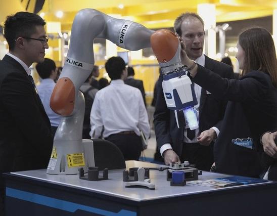 日本东京国际智能机器人展览会