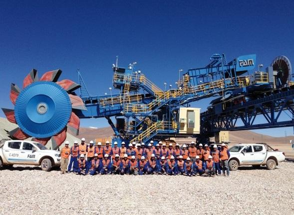 智利圣地亚哥国际矿业展览会
