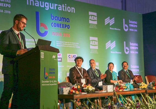 印度新德里国际建筑建材机械、矿山机械及工程车辆宝马展览会