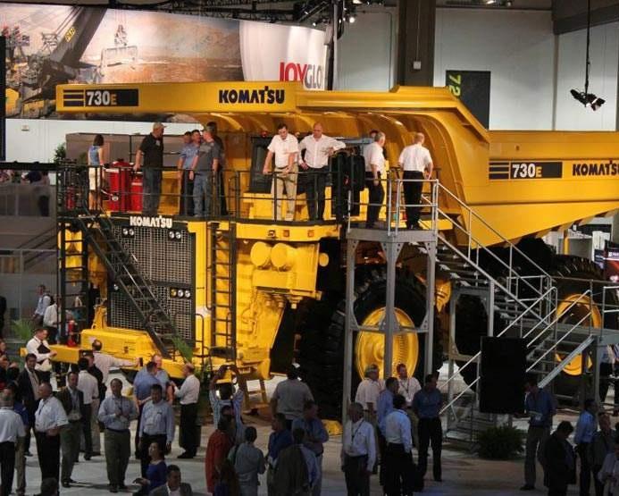 美国拉斯维加斯国际矿山机械展览会