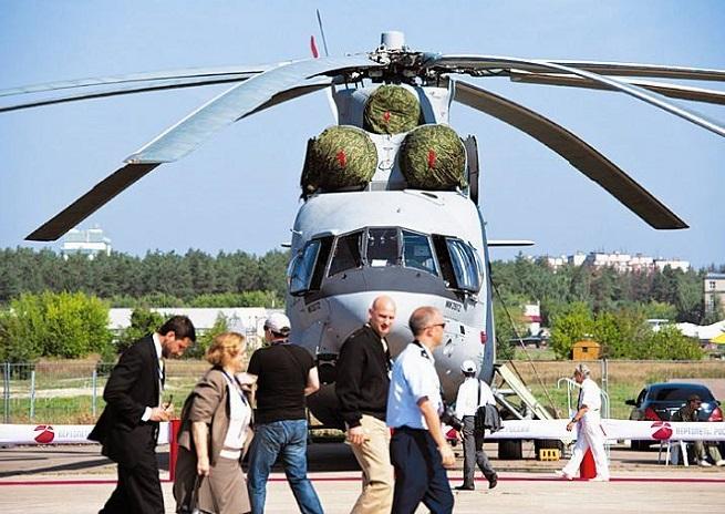 俄罗斯莫斯科国际航空展览会