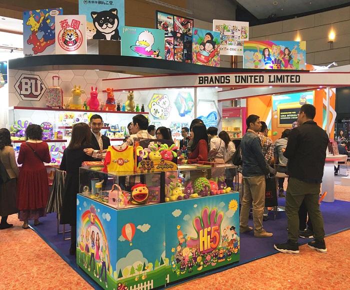 香港国际授权展览会_现场照片