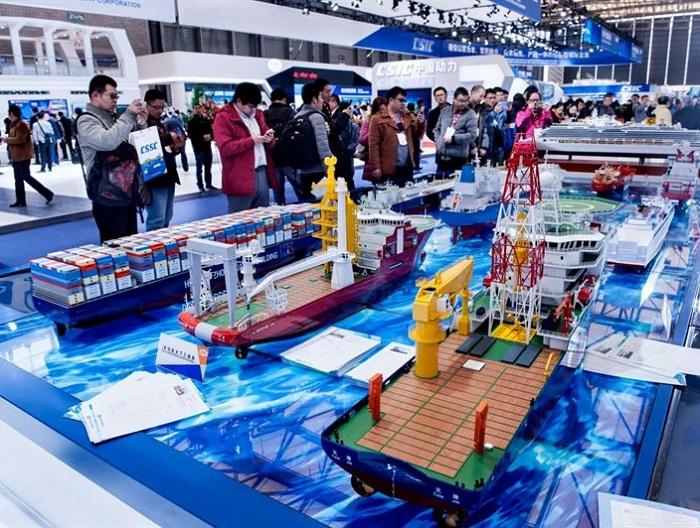 中国(上海)国际海事展览会_现场照片