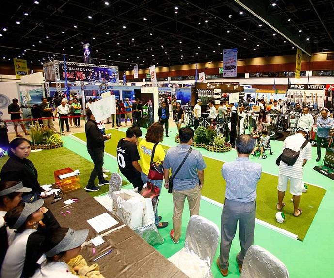 泰国曼谷国际高尔夫用品展览会_现场照片