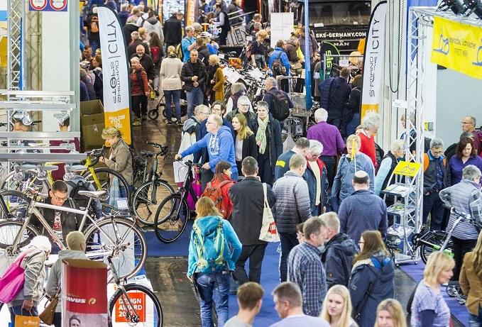 德国埃森国际自行车展览会_现场照片
