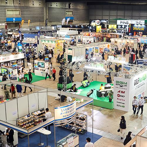 日本横滨国际高尔夫球体育用品展览会_现场照片
