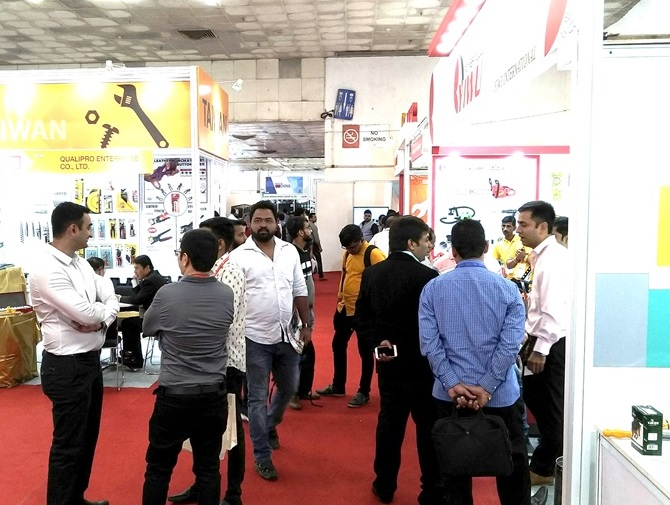 印度新德里国际五金工具展览会_现场照片