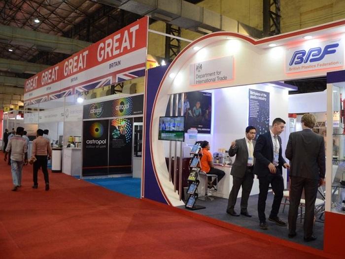 印度孟买国际塑料橡胶展览会_现场照片