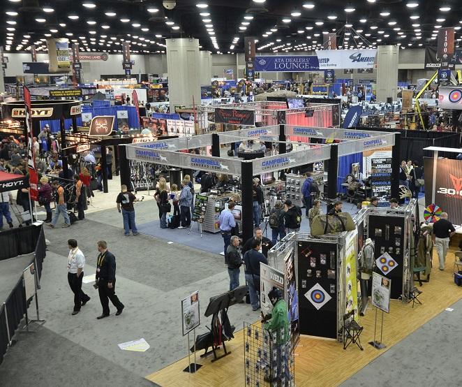 美国印第安纳波利斯国际射箭和牛车展览会_现场照片