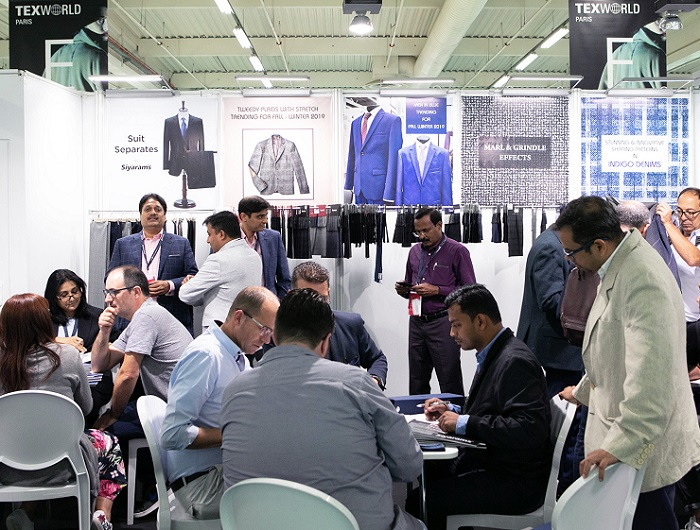 法国巴黎国际春季纺织服装及面料展览会_现场照片