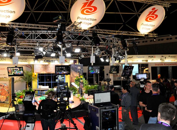 荷兰阿姆斯特丹国际广播电视设备展览会_现场照片