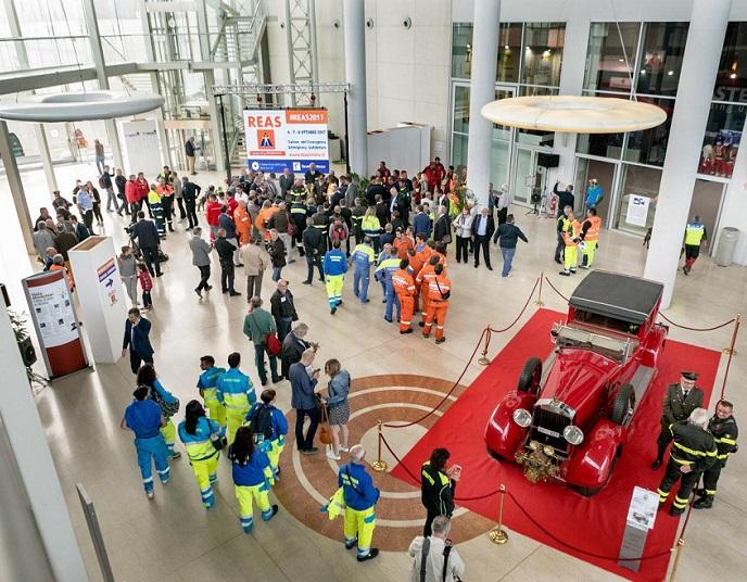 意大利蒙蒂基亚里国际消防及救援展览会_现场照片