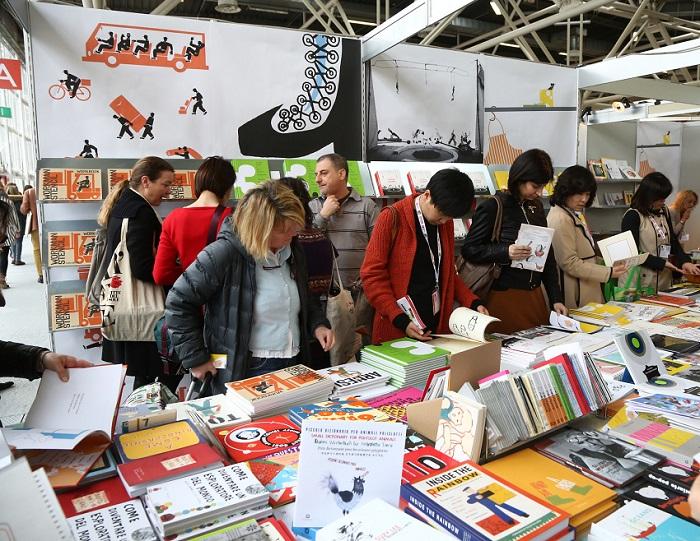 意大利博洛尼亚国际童书展览会_现场照片