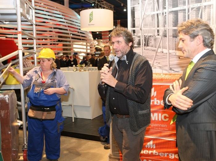 荷兰乌特勒支国际建材展览会_现场照片