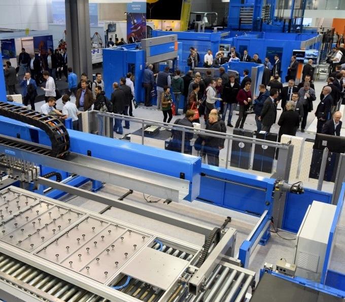 德国汉诺威国际金属板材加工技术展览会