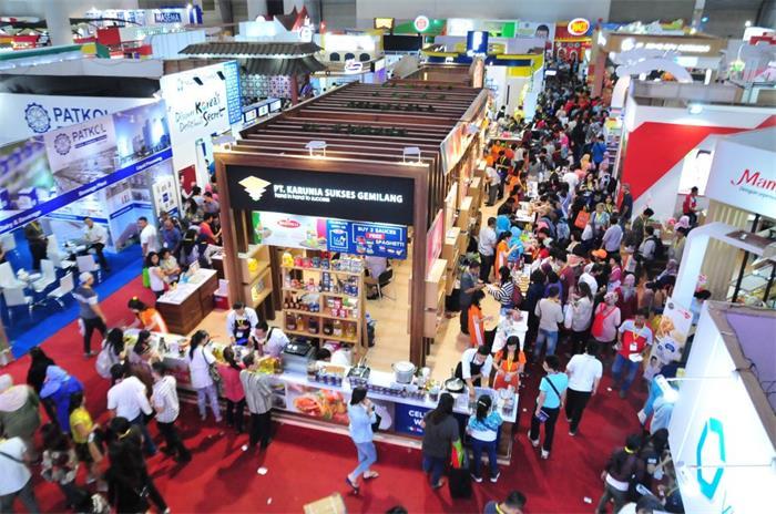 印尼雅加达国际食品饮料及食品加工展览会_现场照片