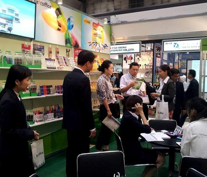 日本东京国际文具办公用品展览会_现场照片