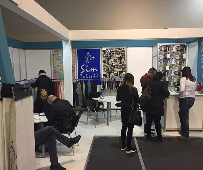 塞尔维亚贝尔格莱德国际纺织展览会_现场照片