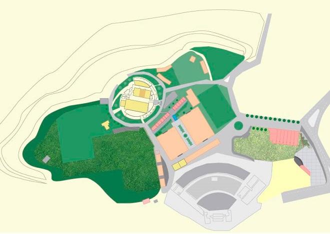 秘鲁阿雷基帕国际会展中心平面图