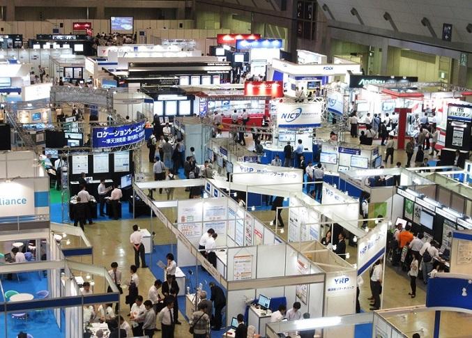 日本东京国际通信技术展览会_现场照片