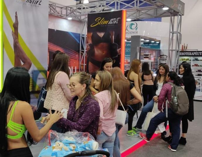 哥伦比亚波哥大国际美容与保健展览会_现场照片