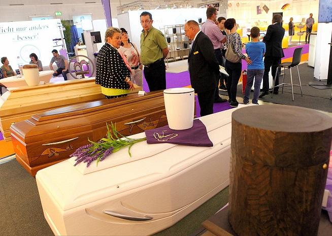 德国德累斯顿国际墓碑棺木及殡仪殡葬用品展览会