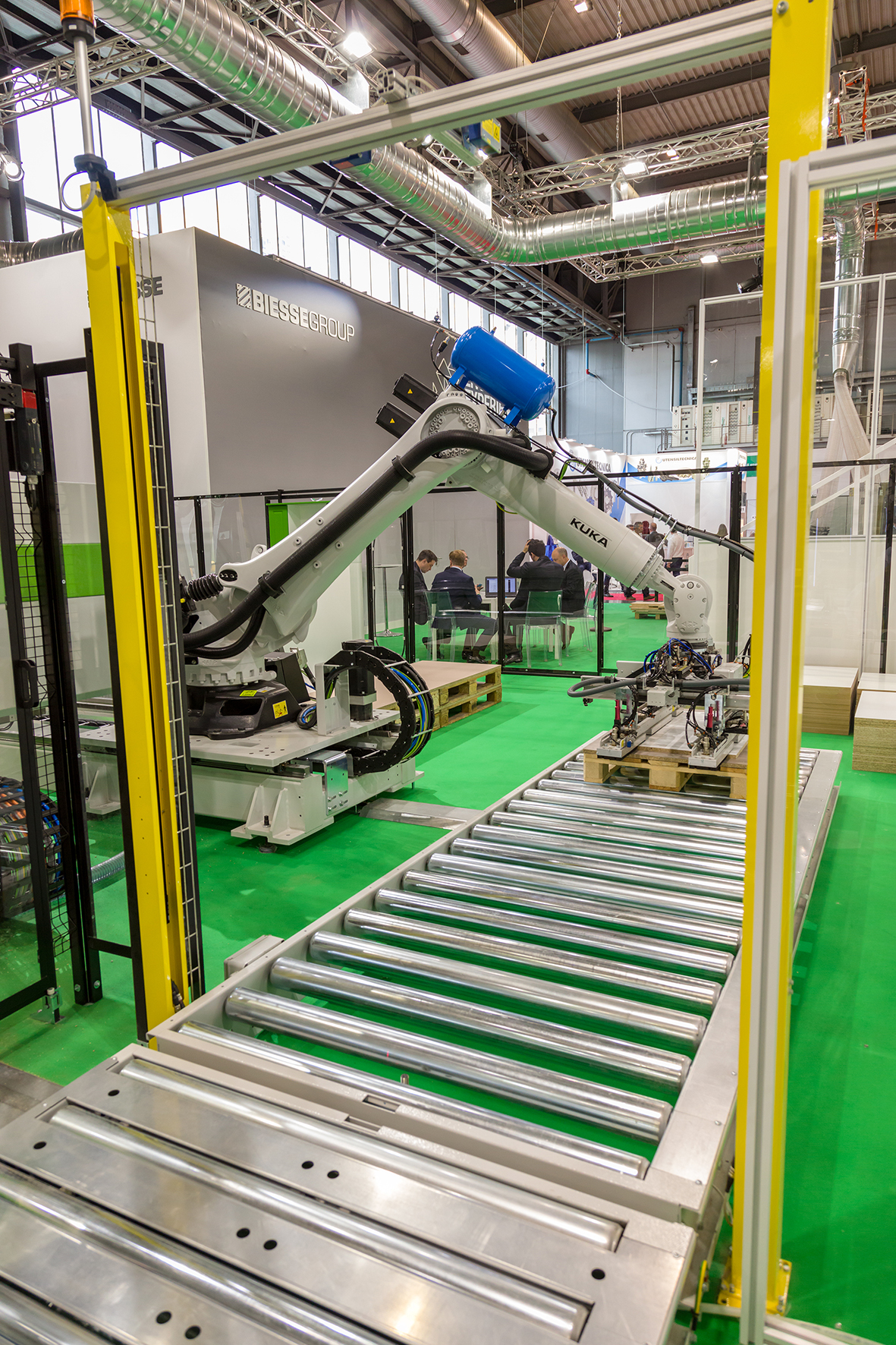 意大利米兰国际木工机械展览会_现场照片