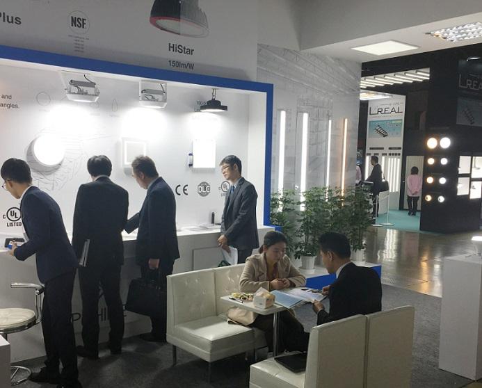 日本东京国际照明及LED照明展览会_现场照片