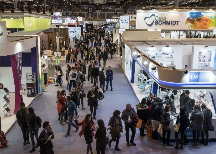 西班牙马德里国际牙科展览会_现场照片