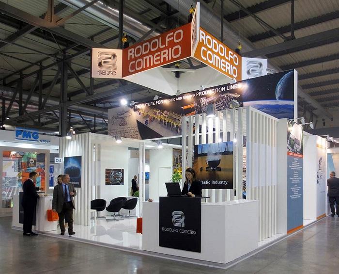德国斯图加特国际聚氨酯泡沫技术展览会 _现场照片