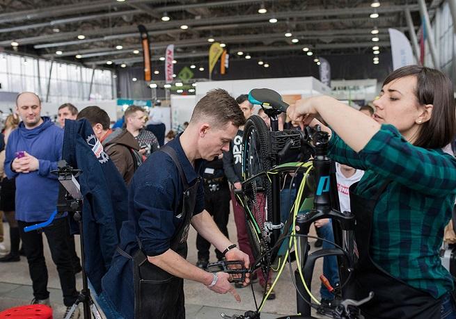 俄罗斯莫斯科国际自行车及配件展览会_现场照片