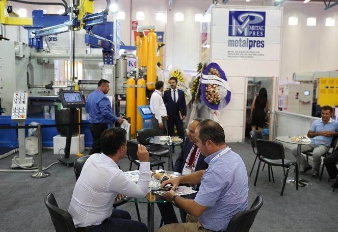 土耳其伊斯坦布尔国际钢铁及铸造技术展览会_现场照片