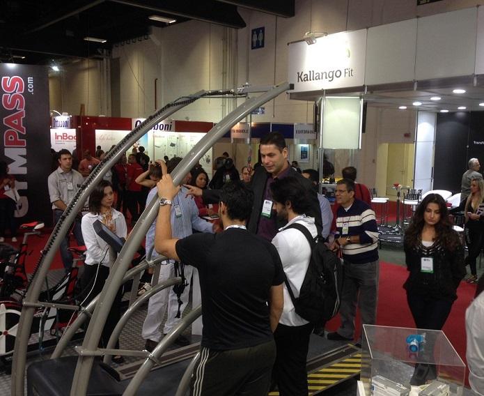 巴西圣保罗国际体育用品及健身器材展览会_现场照片