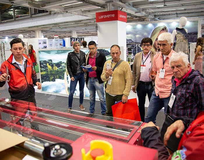 哥伦比亚波哥大国际纺织服装及机械展览会_现场照片