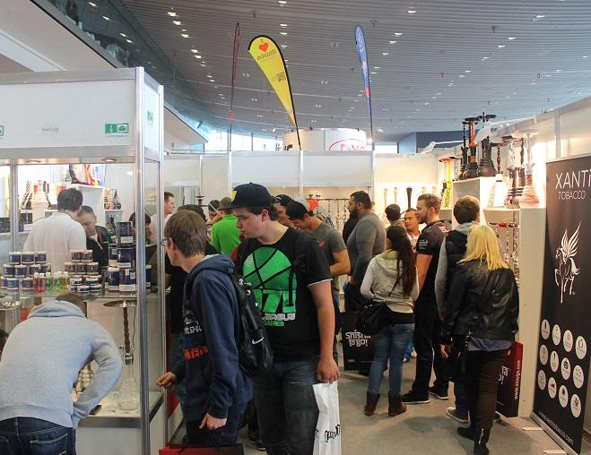 德国斯图加特国际电子烟展览会_现场照片