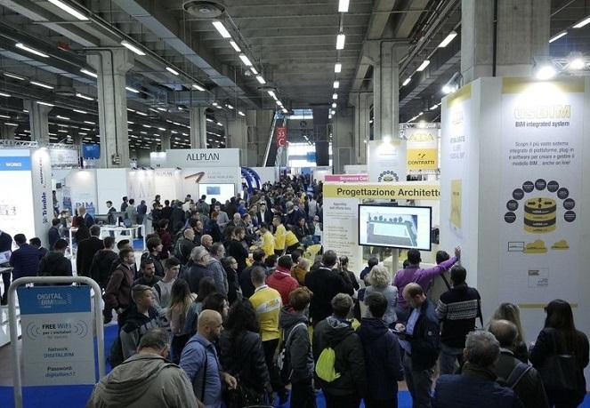 意大利博洛尼亚国际建筑业展览会_现场照片