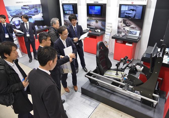 日本东京国际改装车展览会_现场照片
