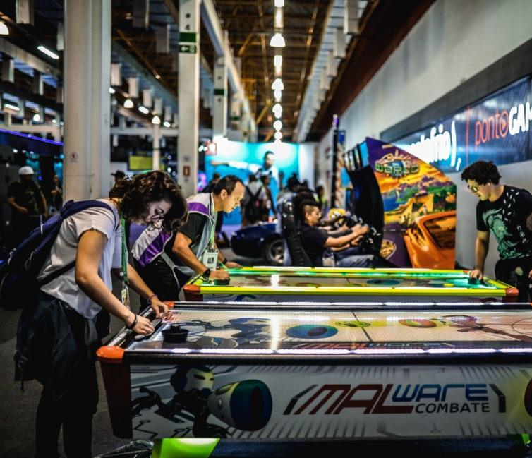 巴西圣保罗国际游戏展览会_现场照片
