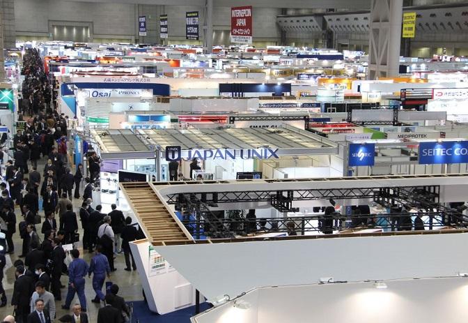 日本东京国际电子元器件及制造设备博览会_现场照片