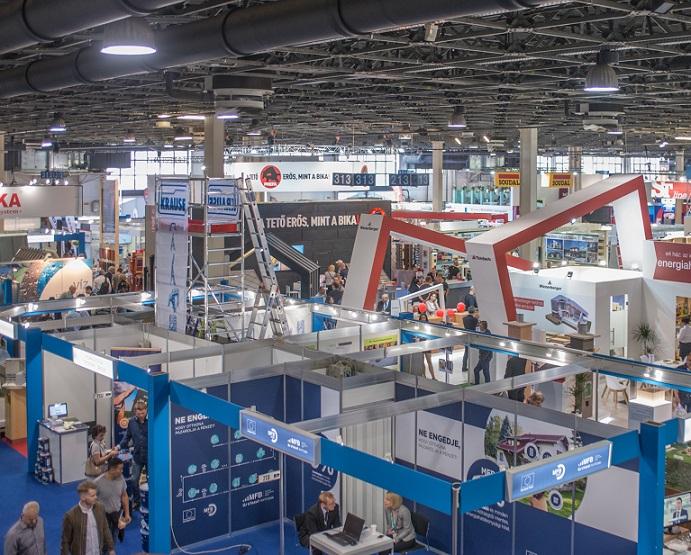 匈牙利布达佩斯国际建材展览会_现场照片