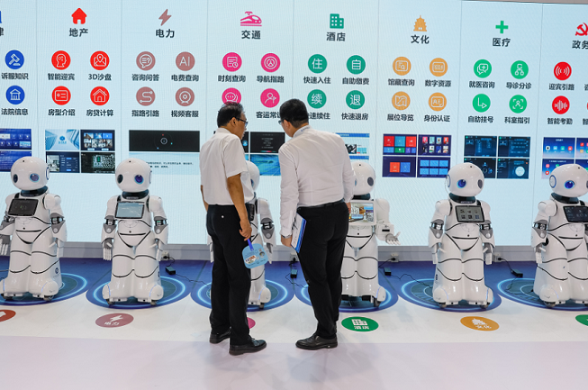 韩国首尔国际机器人展览会_现场照片