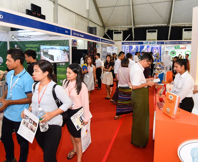 缅甸仰光国际安全与消防展览会_现场照片