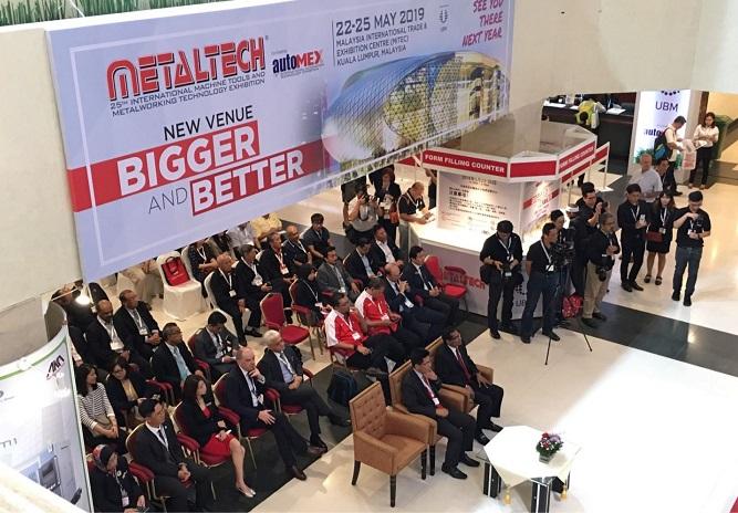 马来西亚吉隆坡国际机床、金属加工、工业自动化展览会_现场照片