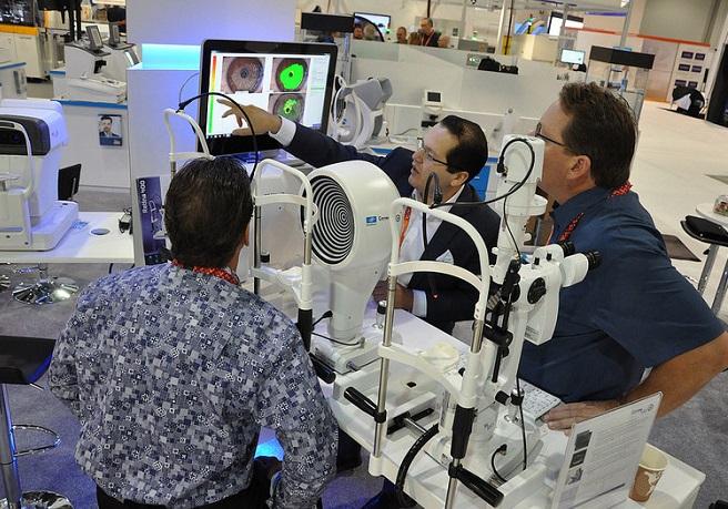 美国拉斯维加斯国际光学眼镜展览会_现场照片