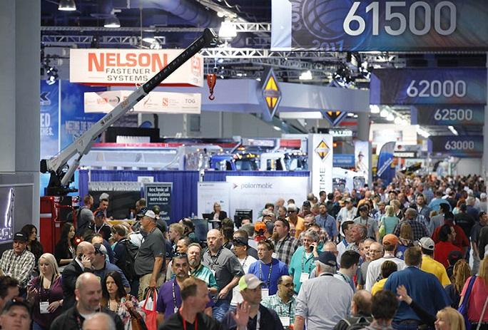 美国拉斯维加斯国际工程机械展览会_现场照片