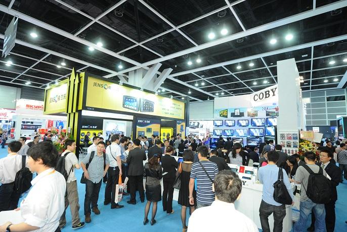 香港国际资讯及通讯科技博览会_现场照片