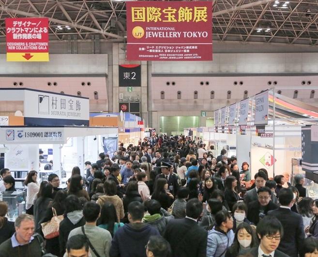 日本东京国际珠宝饰品展览会_现场照片