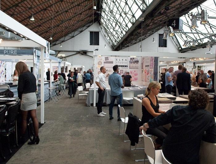比利时布鲁塞尔国际室内装饰与家纺展览会_现场照片